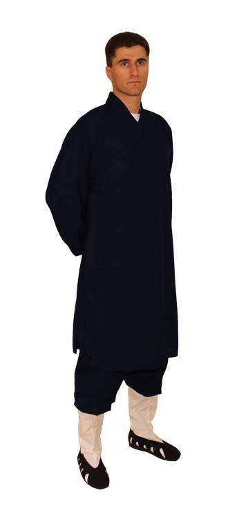 Kung Fu/ Tai Chi Wu Dang Anzug Robe dunkelblau
