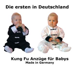 Hochwertige Baby Kung Fu Anzüge