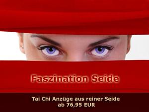 Hochwertige Tai Chi Anzüge aus reiner Seide